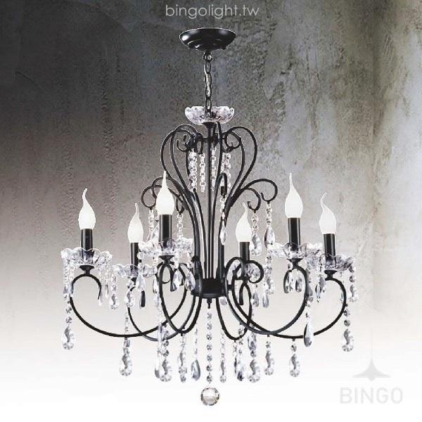 水晶餐吊燈