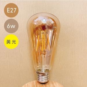 LED愛迪生木瓜泡(E27)-6W